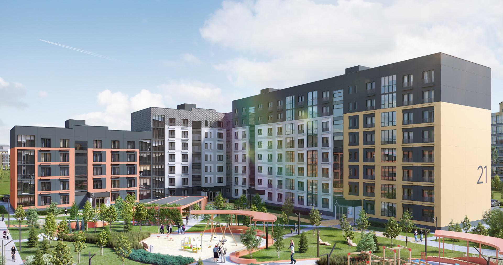 Новая боровая купить квартиру в кредит